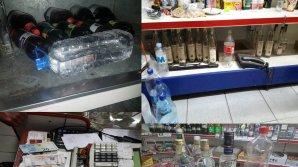 ÎNCĂLCĂRI GRAVE la un magazin din sectorul Buiucani. Se vindeau produse expirate şi băuturi alcoolice dubioase