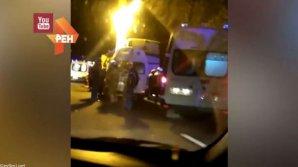TRAGEDIE NOCTURNĂ în Krasnodar! Şapte morţi şi zeci de răniţi, după ce un autocar a intrat frontal într-un camion (VIDEO)