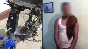 Un tânăr riscă puşcărie după ce a furat un scuter parcat în curtea unui bloc de locuit
