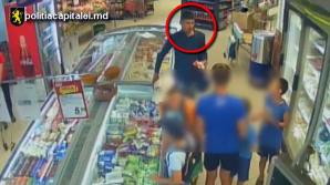 Telefonul mobil contra unei îngheţate, aşa a fost minţit un minor de către individul din imagine (VIDEO)