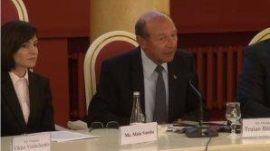 """Maia Sandu, criticată dur de Traian Băsescu: """"Abordările ei împing Moldova în brațele Kremlinului"""""""
