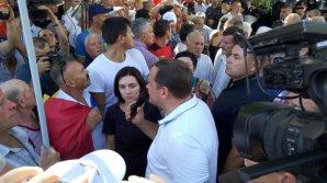 """REVOLTĂTOR! Maia Sandu susţine că agresarea jurnaliştilor e o """"reacţie firească"""""""