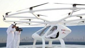 Apare primul taxi zburător. Dubaiul dorește să devină primul oraș din lume înzestrat cu Air Taxi (VIDEO)