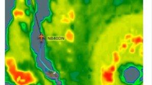 Un pilot s-a luat la întrecere cu uraganul Irma. Cum s-a sfârşit cursa