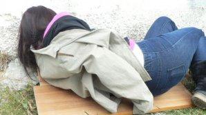 CLIPE DE COŞMAR pentru o tânără din Capitală. A fost la un pas de a fi violată de un bărbat din Floreşti (VIDEO)