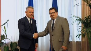 Vlad Plahotniuc s-a întâlnit cu noul ambasador european în Moldova. Michalko a încurajat ţara noastră să menţină ritmul implementării reformelor