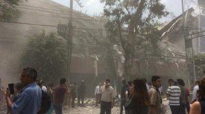CUTREMUR DEVASTATOR în Mexic. Seismul de 7,1 pe Richter a făcut cel puţin 149 de morţi