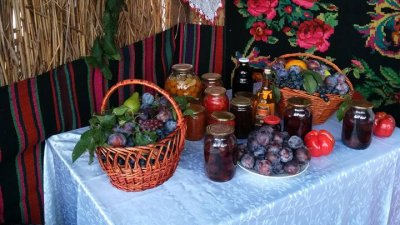 Festivalul prunelor la Nisporeni. Zeci de agricultori şi-au expus recolta de fructe