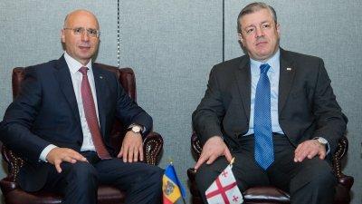 Republica Moldova și Georgia pledează pentru intensificarea relaţiilor bilaterale