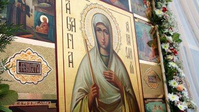 Creştinii ortodocşi din Moldova sărbătoresc un an de la canonizarea Sfintei Agafia