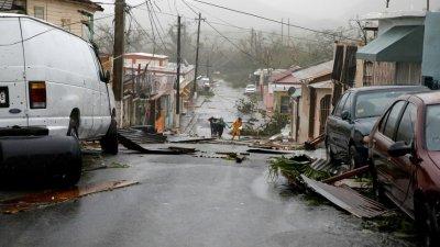 PUBLIKA WORLD. Uraganul Maria a provocat inundaţii majore şi pagube de proporţii în Puerto Rico (VIDEO)