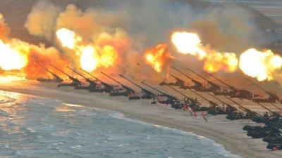 GEST PROVOCATOR din partea Coreei de Nord. A simulat distrugerea unor avioane de luptă şi a submarinelor americane