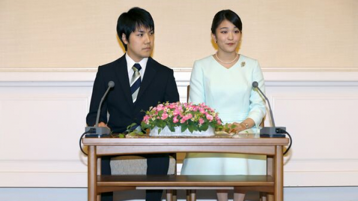 Împăratul Japoniei a aprobat mariajul nepoatei sale, Prinţesa Mako cu un bărbat din afara familiilor regale
