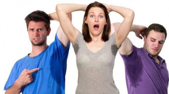 Transpiraţia în exces poate ascunde afecţiuni deosebit de grave
