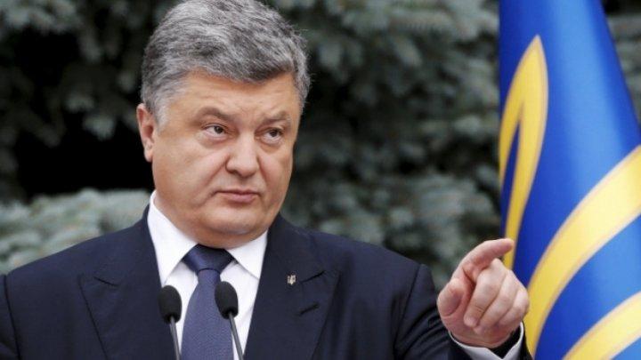 Președintele ucrainean, Petro Poroșenko, ar putea face modificări în legea educației