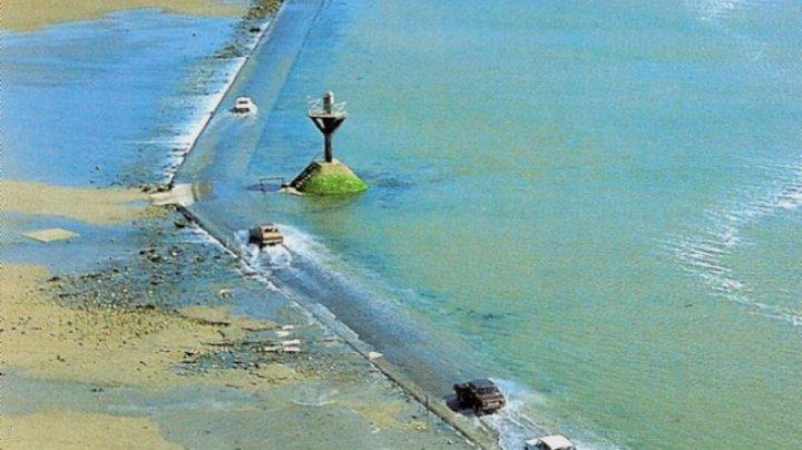 Drumul UNIC în lume: de două ori pe zi, DISPARE complet. Cum e posibil (FOTO)