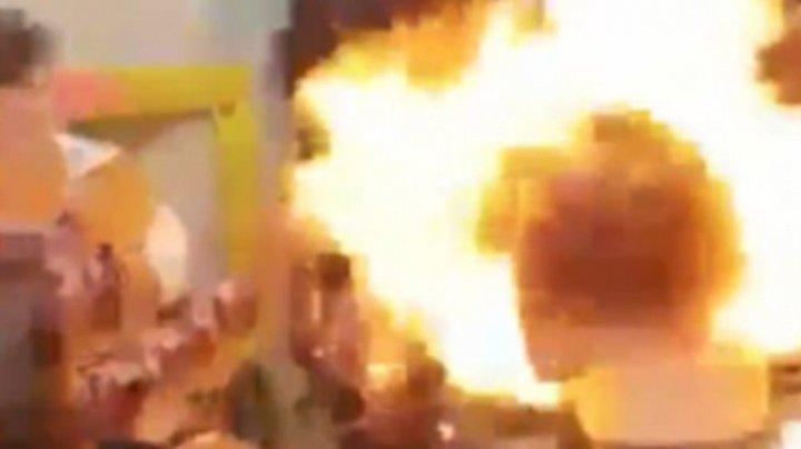 Aniversare TRAGICĂ pentru o fetiță! A fost cuprinsă de flăcări sub ochii invitaților