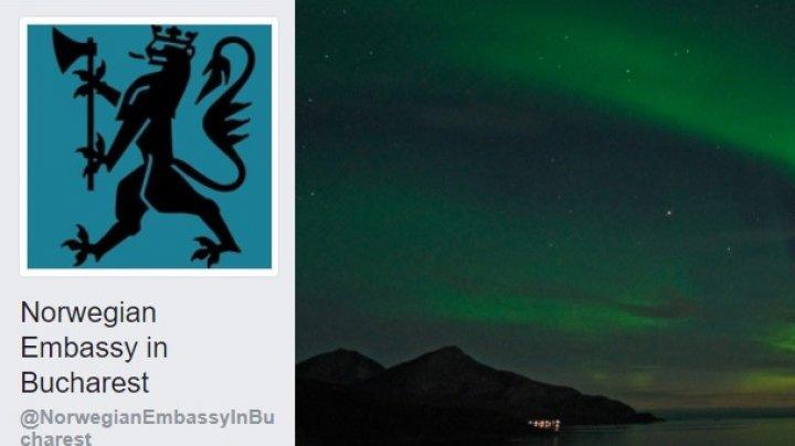 Ironii online! Ambasada Suediei la Bucureşti anunţă într-o postare uşor ironică că Ambasada Norvegiei şi-a făcut, în cele din urmă, cont de Facebook