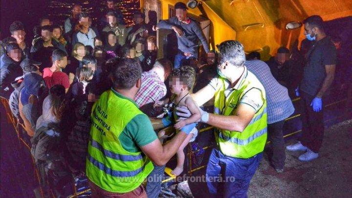 Peste 100 de migranţi din grupul celor care săptămâna trecută au încercat să intre ilegal în România vor fi expulzaţi