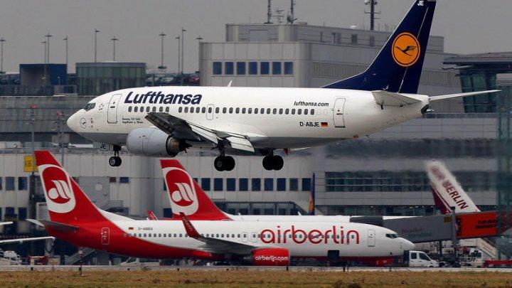 70 de zboruri operate de Air Berlin au fost anulate după ce mai mulţi piloți au anunţat că s-au îmbolnăvit