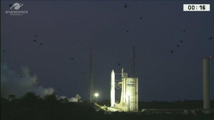 Lansarea rachetei Ariane 5, anulată în ultimele secunde după ce un motor s-a aprins