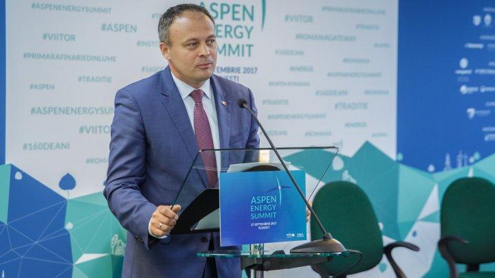 """Candu, la Aspen Energy Summit: """"Conectarea la piața energetică europeană este crucială pentru Moldova"""""""