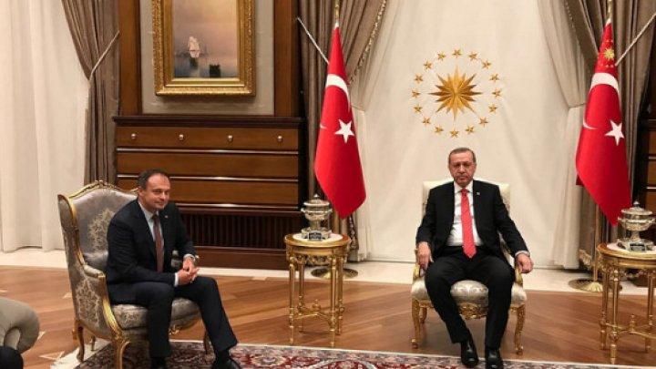 Candu s-a întâlnit cu Erdoğan: Găgăuzia reprezintă un pod de prietenie între Moldova și Turcia