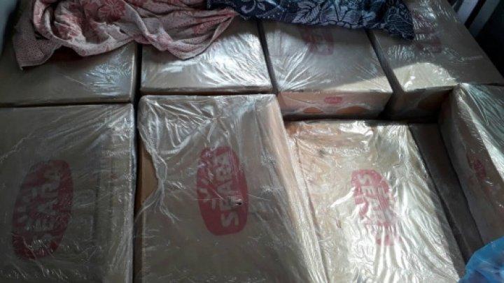 Sute de kilograme de carne fără acte de proveniență, CONFISCATE în raionul Căușeni. Unde urma să ajungă marfa