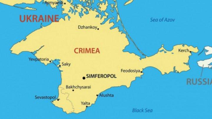 Rusia vrea să ridice un gard care să separe peninsula Crimeea de Ucraina