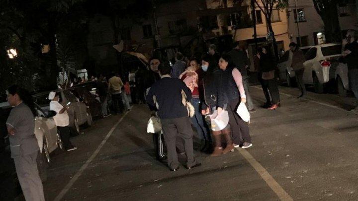 CUTREMUR cu magnitudinea de 8,2 în Mexic! Sunt cel puţin 26 MORŢI. A fost emisă ALERTĂ DE TSUNAMI (VIDEO)