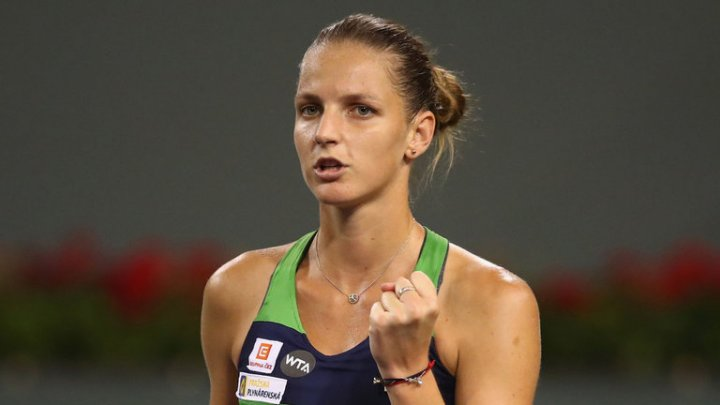 Karolina Pliskova şi Jelena Ostapenko s-au calificat în sferturile de finală ale turneului WTA de la Wuhan