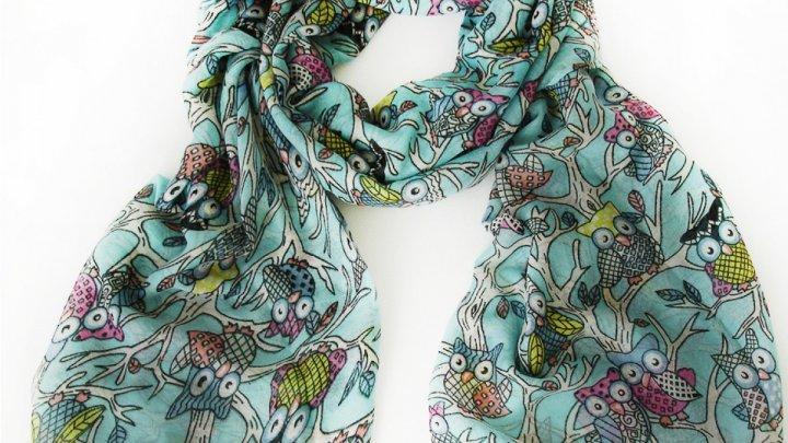 Moduri creative în care poţi purta o eşarfă (VIDEO)