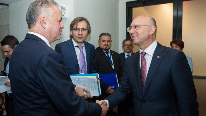 Filip, la New York: Mizăm pe sprijinul partenerilor slovaci în implementarea agendei de reforme privind Acordul de Asociere cu UE