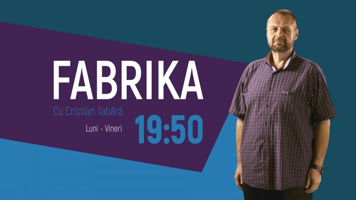 Monica Babuc și Chiril Gaburici, invitați la Fabrika. Ce subiecte vor fi discutate
