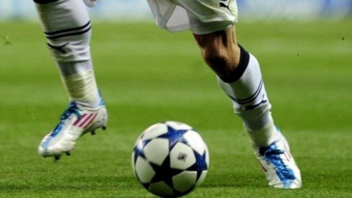 Provocare amuzantă! Fotbaliştii Speranţei s-au antrenat cu ochii legaţi