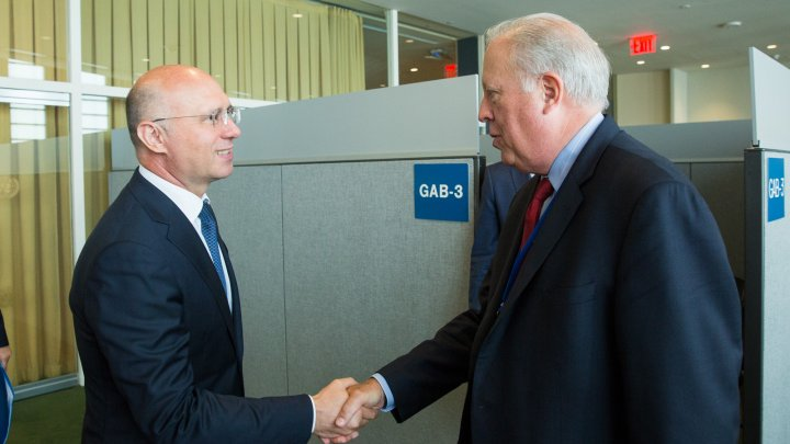 Premierul Pavel Filip a avut o întrevedere cu Subsecretarul pentru Afaceri Politice al Departamentului de Stat al SUA