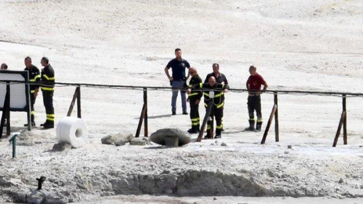 O familie și-a pierdut viața, după ce a căzut în craterul unui vulcan, în apropiere de Napoli