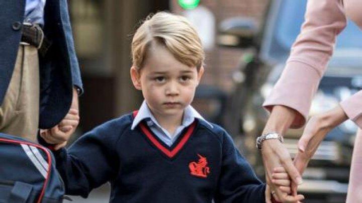 Prințul George şi-a început studiile. La ce şcoală privată va merge fiul cuplului regal