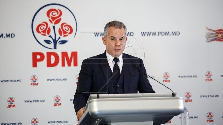 Vlad Plahotniuc: PDM a cerut ministrului Justiției să oprească orice activitate privind noua lege a ONG-urilor