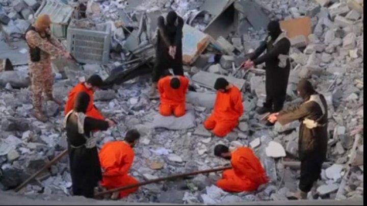 Mai mulți prizonieri ISIS urmau să fie executați de jihadiști, dar au fost salvați în ultima clipă. Care este motivul