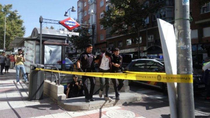 Incident armat la metroul din Madrid. Doi suspecţi au fost reţinuţi