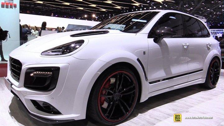 Salonul Auto de la Frankfurt. Porsche a prezentat noul Cayenne Turbo (VIDEO)