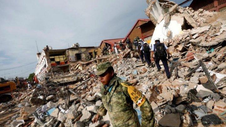 Cutremurul DEVASTATOR din Mexic a lăsat sub dărâmături trei copii vii (VIDEO)