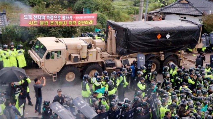 Ciocniri violente între protestatari şi forţele de ordine din Coreea de Sud. Circa 30 de persoane au fost rănite