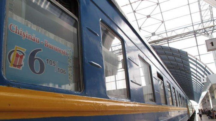 Trenul Chişinău - Bucureşti şi-a reînceput cursa. Biletele vor putea fi cumpărate şi online