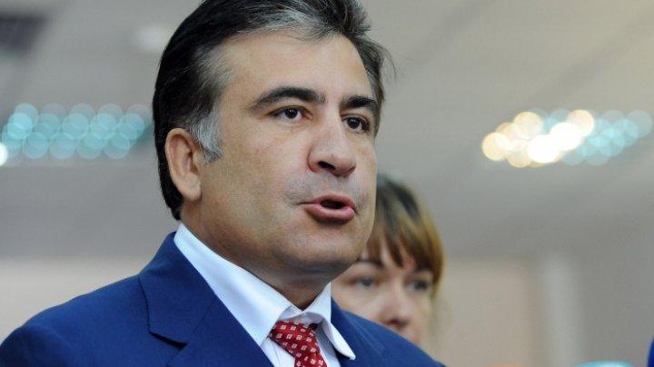 Procuror: Fostul președinte Mihail Saakașvili nu va fi arestat pentru trecerea ilegală a frontierei ucrainene