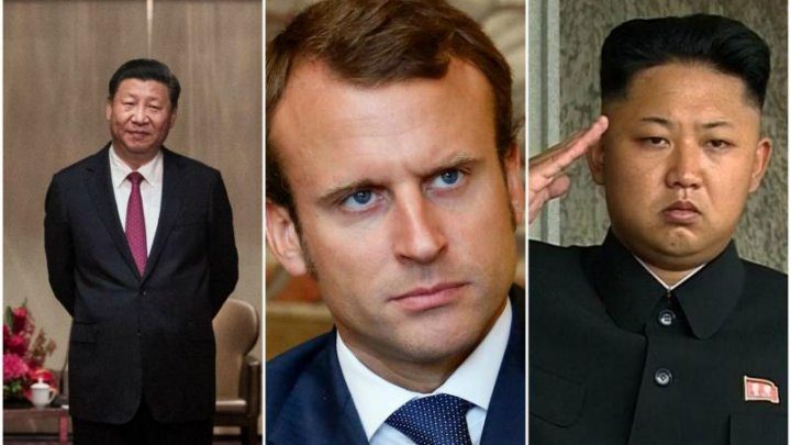 China îl atrage discret pe Macron la aplanarea crizei legate de Coreea de Nord