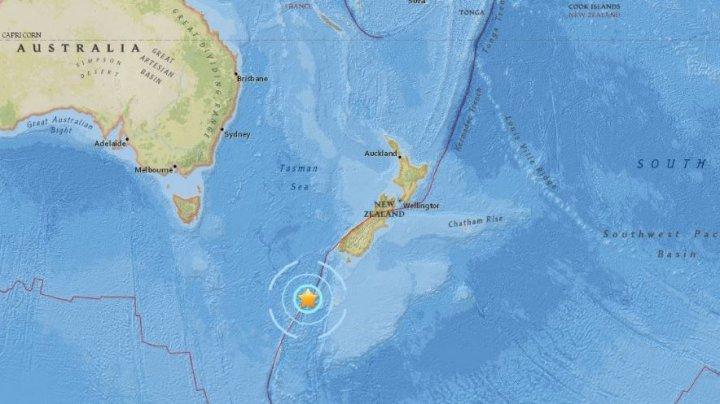 ÎNCĂ UN CUTREMUR PUTERNIC! Un seism cu magnitudinea de 6,1 a zguduit Noua Zeelandă