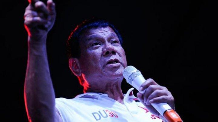 Veste șocantă! Președintele filipinez Rodrigo Duterte a dezvăluit că a omorât o persoană când avea 16 ani