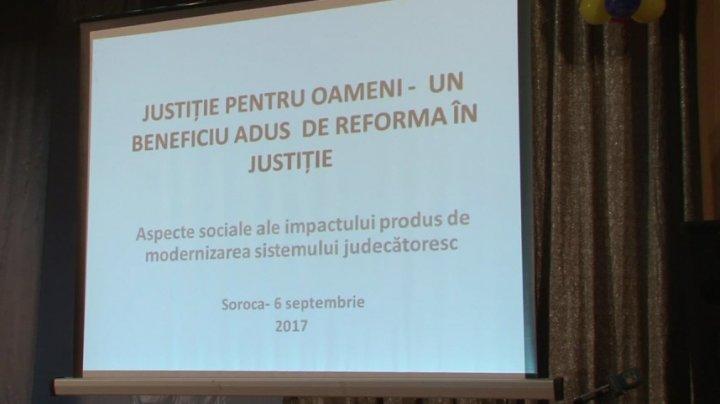 Magistraţii din Soroca şi Floreşti vor activa în cadrul unei singure judecătorii